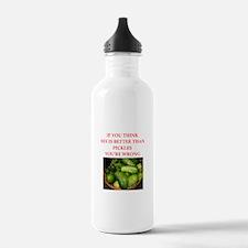 a funny food joke Water Bottle
