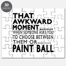 Paint Ball Awkward Moment Designs Puzzle
