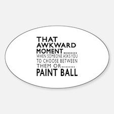 Paint Ball Awkward Moment Designs Decal
