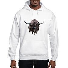 Scottish Highland Cow Jumper Hoody
