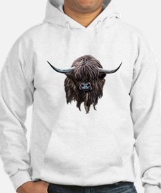 Scottish Highland Cow Jumper Hoody