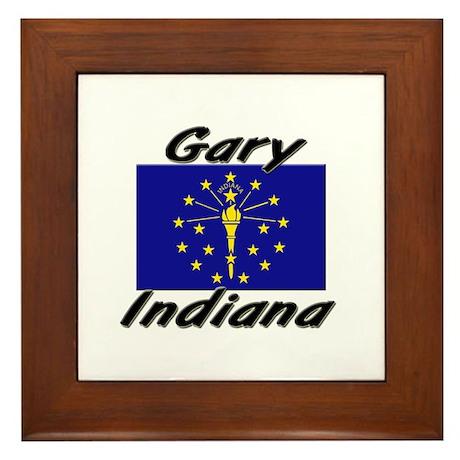 Gary Indiana Framed Tile