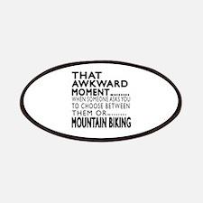 Mountain Biking Awkward Moment Designs Patch