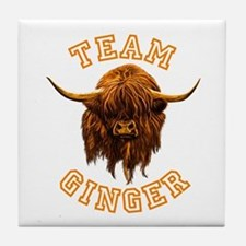 Team Ginger. Tile Coaster