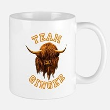 Team Ginger Scottish Highland Cow Mug