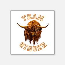 Team Ginger. Sticker