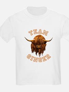 Team Ginger Scottish Highland C T-Shirt