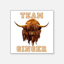 TEAM GINGER Sticker