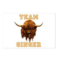 TEAM GINGER Postcards (Package of 8)