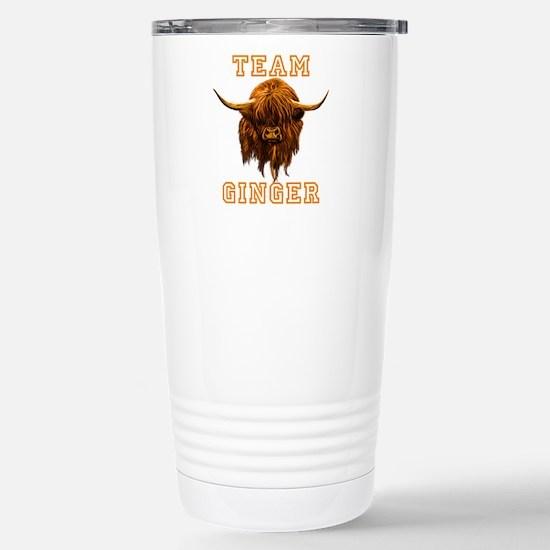 Team Ginger Scottish Hi Stainless Steel Travel Mug