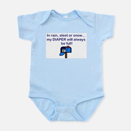 FULL DIAPER HUMOR Infant Bodysuit