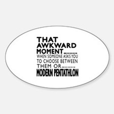 Modern Pentathlon Awkward Moment De Decal