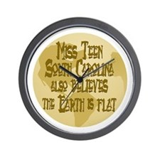 Miss Teen SC Wall Clock