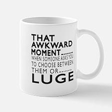 Luge Awkward Moment Designs Mug