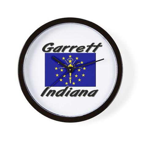 Garrett Indiana Wall Clock