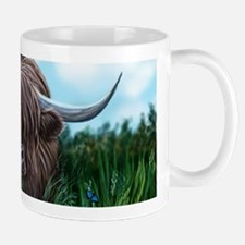 Scottish Highland Cow Painting Mugs