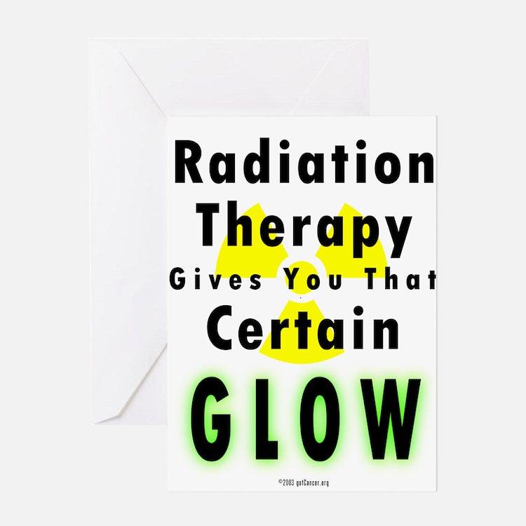 Cute Radiation Greeting Card