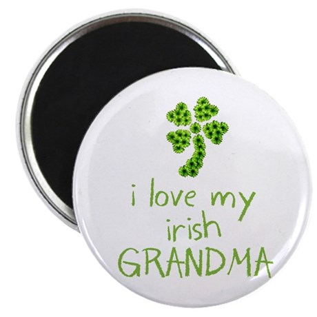 "I Love my Irish Grandma 2.25"" Magnet (10 pack)"