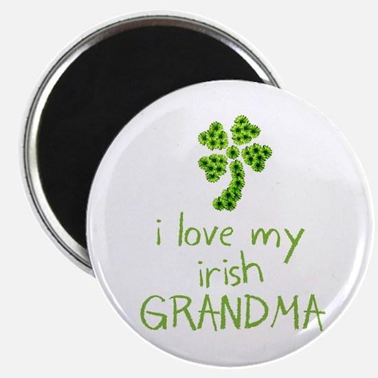 """I Love my Irish Grandma 2.25"""" Magnet (10 pack)"""