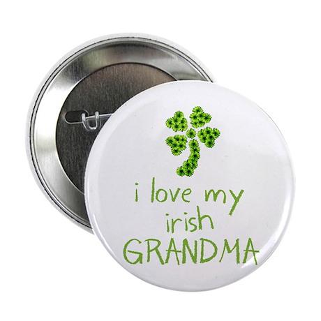 """I Love my Irish Grandma 2.25"""" Button (10 pack)"""