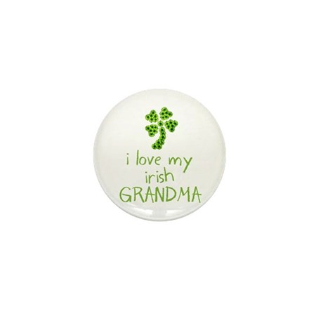 I Love my Irish Grandma Mini Button