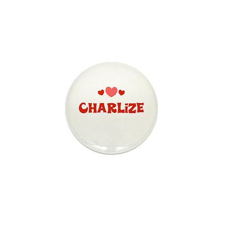 Charlize Mini Button
