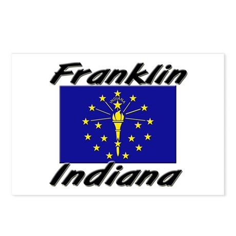 Franklin Indiana Postcards (Package of 8)