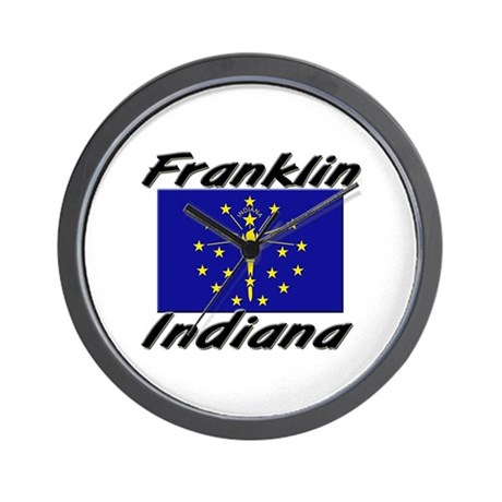 Franklin Indiana Wall Clock
