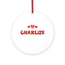Charlize Ornament (Round)