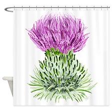Bonnie Thistle Shower Curtain