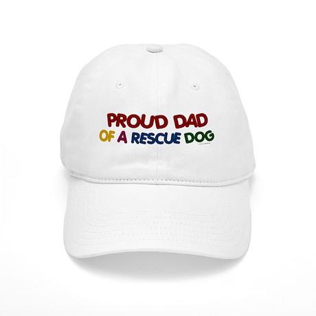 Proud Dad Of Rescue Dog 1 Cap