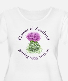 Jaggy thistle T-Shirt