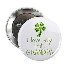 I Love my Irish Grandpa Button