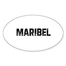 Maribel Oval Decal