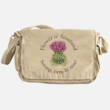 Scottish Thistle Messenger Bag