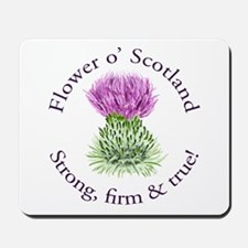 Scottish Thistle Mousepad