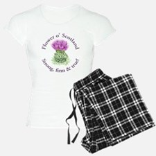 Scottish Thistle Pajamas