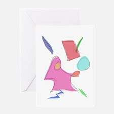 Gentle Electricity Greeting Cards