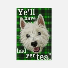 Unique Westie sayings Rectangle Magnet