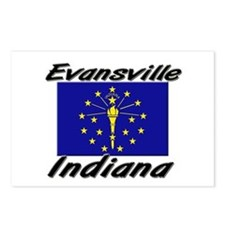 Evansville Indiana Postcards (Package of 8)