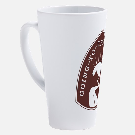 Cute Glacier national park 17 oz Latte Mug