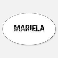 Mariela Oval Decal