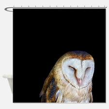 The Barn Owl Shower Curtain