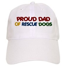 Proud Dad Of Rescue Dogs 1 Hat