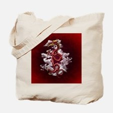 Oriental Dragon Tote Bag