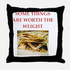 Cute Mexican joke Throw Pillow