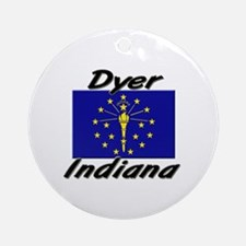 Dyer Indiana Ornament (Round)