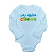 Unique Loan officer Long Sleeve Infant Bodysuit