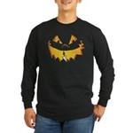 Halloween Scary Jack O Lantern Long Sleeve Dark T-