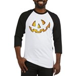 Halloween Jack O Lantern Baseball Jersey